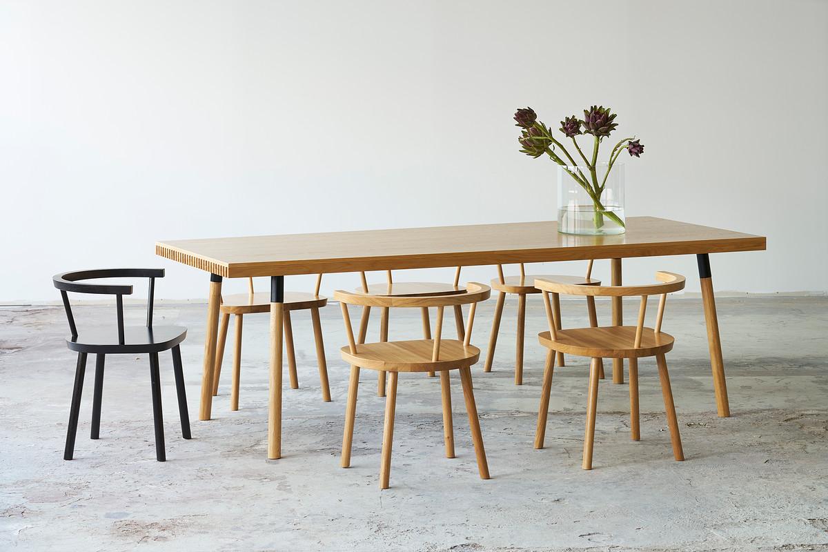 valgomojo kėdė crescent