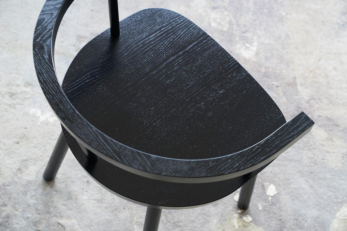 valgomojo kėdė juoda